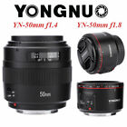 Yongnuo 50mm F1.8II/F1.4 Large Aperture AF MF Full Frame Lens for Canon DSLR S1, usado segunda mano  Embacar hacia Mexico