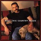 CD-Aaron Tippin What This Country Needs (CD, Oct-1998, Hollywood)