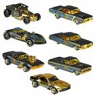 **HOT WHEELS 50th ANNIVERSARY BLACK AND GOLD YOU CHOOSE ONE** $3.95 USD on eBay