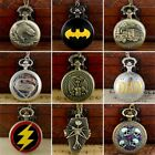 Steampunk Retro Design Pocket Watch Necklace Chain Pendant Gift Quartz Movement image
