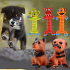 Dog Rubber Squeaky Chew Toy Pet Bite Resistant Sound Toy Monkey / Hippo / Dog
