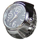 Dial Quartz Analog Watch Creative Chic Steel Elastic Quartz Ring Watch Fine