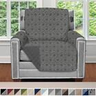 """Reversible Patent Pending Chair Dogs 2"""" Strap/Hook Slip Seat Protector Cover"""
