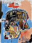 X341 Jean Michel Basquiat Head Art Silk 12x8 40x27inch Poster