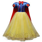 Toddler Kids Girl Aurora Anna Elsa Princess Party Fancy Dress Up Cosplay Costume