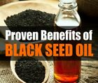 Black Seed Oil 100% Pure Organic Non GMO Cold Pressed Nigella Sativa Cumin