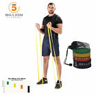 5BILLION Pull Up Latex Resistance Band Streching  Workout Fitness Equipment image