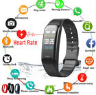 Fitness Tracker Heart Rate Monitor Watch Color Screen IP68 Waterproof iPhone GPS