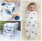 Aden Anais baby swaddle blanket For baby sleeping swaddle muslin wrap 120 120cm