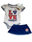 *NWT - MLB - BABY GIRL'S TEXAS RANGERS 2-PC SKIRT OUTFIT SET - OFFICIAL on Ebay