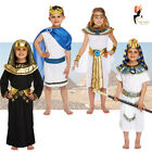 Egyptian King Queen Kids Book Week Fancy Dress Costumes Pharaoh Cleopatra