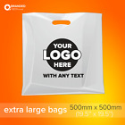 Custom Printed Plastic Carrier Bags Goody Bags with your logo