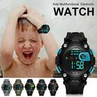 Kids Digital Electronic Watch Waterproof Children Boys Girls Sports LED Watches image