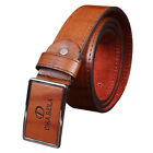 Mens PU Leather Casual Dress Belt Pin Buckle Waist Strap Belts Waistband Straps