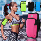 Sports Armband Case Cover Running Jogging Pouch Holder Bag Cell Phones Black  image