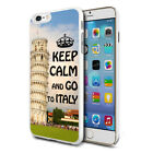 For Various Phones Design Hard Back Case Cover Skin - Go To Italy