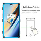 For One Plus 6T Armor Hybrid Case With Kickstand Belt Clip + Screen Protector