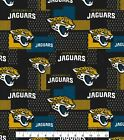 Jacksonville Jaguars Fabric by the Yard, by the Half Yard, NFL Cotton $5.25 USD on eBay