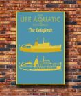 New Wes Anderson's The Life Aquatic Poster -14x21 24x36 Art Gift X-3315