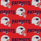 New England Patriots Fabric by the Yard or Half Yard, NFL Cotton Fabric, NFL Fab $9.95 USD on eBay