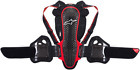 Alpinestars Nucleon KR-3 Back Protector BLACK RED FREE SHIPPING