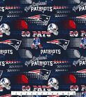 New England Patriots Fabric by the Yard, by the Half Yard, NFL Cotton Fabric, Re $5.25 USD on eBay