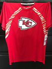 NEW KANSAS CITY CHIEFS ZUBAZ NFL POLYESTER MEN'S TSHIRT SHORT SLEEVE SHIRT $14.0 USD on eBay