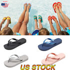 Mens Beach Slipper Loafers Shower Sandal Poolside Soft Anti Slip Flip Flops US