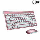 USB Optical Wireless Keyboard Mouse Set Ultra-Thin Keyboard For HP Dell Lenovo