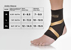 Copper Fit Pro Compression Ankle support Arthritis Relief Motion Brace Sleeve