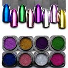 Magic Mirror Effect For Nails Powder Glitter Metallic Powder Shine Nails Art