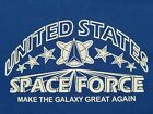 SPACE FORCE T SHIRT TRUMP 2020 USA                                         image