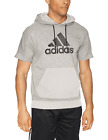 Mens Adidas Sport ID Hoodie Chalk Athletic SS PO Sweatshirt CV3223 Sizes Med-XXL