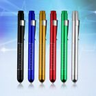 Aluminum Medical Penlight Pen Flashlight Torch With Scale First Aid ZH