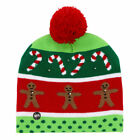 9552 Christmas Hat Winter Cap Gifts Protective Beanie Led Cap Light Up Cap Hat