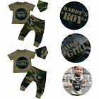 Boys Girls Tops Cotton Little Scarf Camouflage Baby Clothes Set T-shirts&Pants