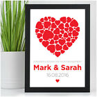 Personalised Engagement Congratulations Gifts for Couples Her Him Keepsake Gifts