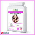 Biotin 10,000mcg Max Strength Tablets for Healthy Hair, Skin & Nails Vitamin B7