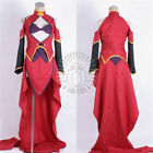 The King's Avatar Fighting Mage Red Suits Tang Rou Cosplay Costume