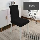 Elastic Chair Slipcovers Kitchen Seat Cover Spandex Stretch Coat 20 Solid Colors