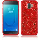 For Samsung Galaxy J2 Core Plus S260DL Frozen Glitter Case Cover +Tempered Glass