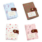 Cute Small Woman Wallet Mini Canvas Business Card Holder ID Credit Card Case Bag