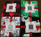 Christmas  Warm & Snuggly Super Soft Blanket 60x50 Inch Cozy 12 Patterns image