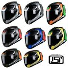 Full Face Graphics Helmet Vision Steelbird Alpha Beta Matt Finish Smoke Visor
