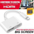Kyпить 1080P 8 Pin Lightning to HDMI TV AV Adapter Cable for iPhone 6 6S 7 8 Plus X на еВаy.соm