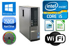 Dell OPTIPLEX 7010 SFF i3/i5 DUAL/QUAD CORE 4/8GB RAM 250GB HD USB 3.0 WIN 10