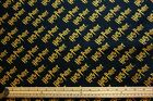 Official HARRY POTTER Licensed Magical 100% Cotton Patchwork Craft Fabric