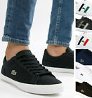 Lacoste Mens Shoes LEROND Casual Sneakers Canvas / Leather Trainers NEW