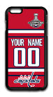 2018 Champions Washington Capitals Custom Name/Number iPhone iPod Case 160607 $12.99 USD on eBay