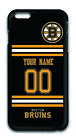 NHL Boston Bruins Personalized Name/Number iPhone iPod Case 162509 $12.99 USD on eBay